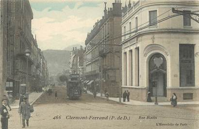 """CPA FRANCE 63 """"Clermont Ferrand, rue Blatin"""""""