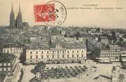 """63 Puy De DÔme CPA FRANCE 63 """"Clermont Ferrand, place de la jaude et le théatre"""""""