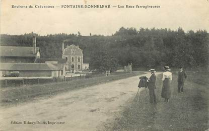 """/ CPA FRANCE 60 """"Fontaine Bonnelau, les eaux Ferrugineuses """""""