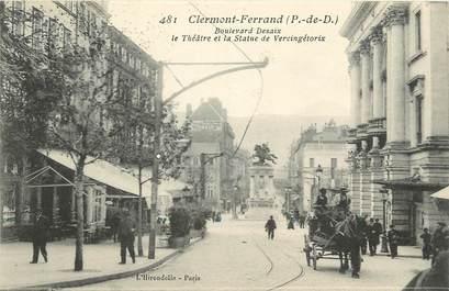 "CPA FRANCE 63 ""Clermont Ferrand, Bld Desaix"""