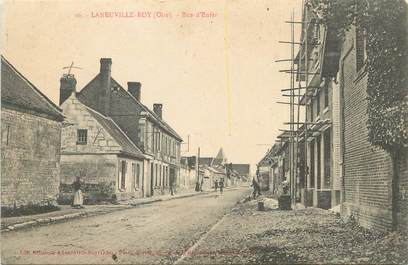 """/ CPA FRANCE 60 """"Laneuville Roy, rue d'enfer"""""""