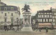 """63 Puy De DÔme CPA FRANCE 63 """"Clermont Ferrand, le Théâtre, le café de Paris"""""""