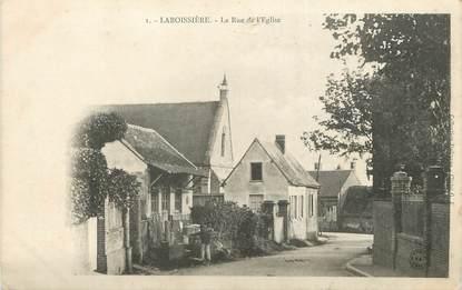 Cpa france 60 laboissi re la rue de l 39 glise 60 for Liste communes oise