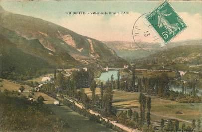 """CPA FRANCE 39 """"Thoirette, vallée de la rivière"""""""