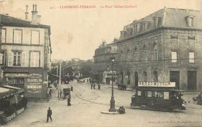 "CPA FRANCE 63 ""Clermont Ferrand, Place Gilbert Gaillard"""