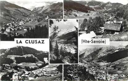 """/ CPSM FRANCE 74 """" La Clusaz"""""""