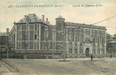 "CPA FRANCE 63 ""Clermont Ferrand, Lycée Jeanne d'Arc"""