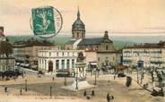 """63 Puy De DÔme CPA FRANCE 63 """"Clermont Ferrand, Place de Jaude, l'Eglise des minimes"""""""