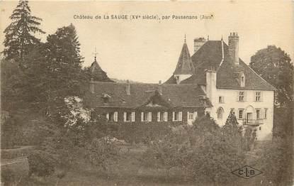"""CPA FRANCE 39 """"Chateau de La Sauge par Passenans"""""""