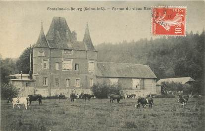 """CPA FRANCE 76 """"Fontaine le Bourg, Ferme"""""""
