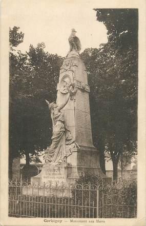 "CPA FRANCE 58 ""Corbigny, le monument aux morts"