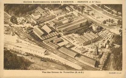 """CPA FRANCE 78 """"Versailles, vue des Usines """""""