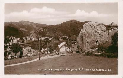 """/ CPSM FRANCE 38 """"Villard de Lans, vue prise du hameau des pierres"""""""