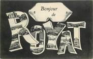 """63 Puy De DÔme CPA FRANCE 63 """"Un bonjour de Royat"""""""