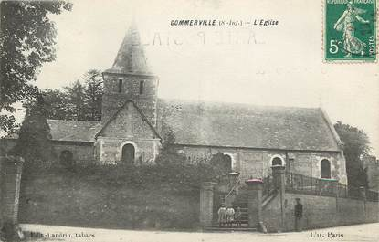 """CPA FRANCE 76  """"Gommerville"""""""