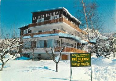"""/ CPSM FRANCE 38 """"Villard de Lans, hôtel Le Pré Fleuri"""""""