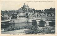 "53 Mayenne CPA FRANCE 53 ""Mayenne, vue du Pont Neuf et Eglise Notre Dame"""