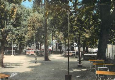 """/ CPSM FRANCE 11 """"Rennes Les Bains, Maison de repos La terrasse"""""""