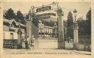 """74 Haute Savoie CPA FRANCE 74 """"Le Fayet Saint Gervais, entrée du Parc et du Casino"""""""