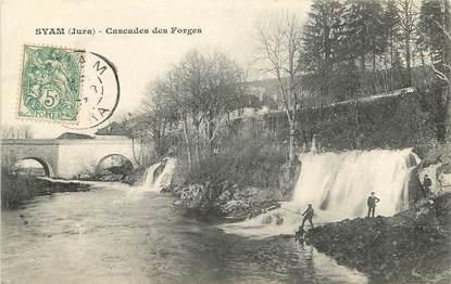 "CPA FRANCE 39 ""Syam, Cascades des Forges"""