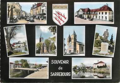 "/ CPSM FRANCE 57 ""Souvenir de Sarrebourg"""