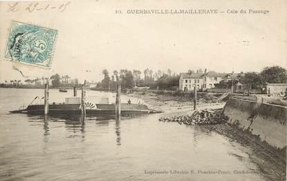 "CPA FRANCE 76 ""Guerbaville la Mailleraye"""