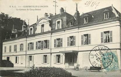 """CPA FRANCE 76 """"Confreville L'Orcher, Château du Camp Dolent"""""""