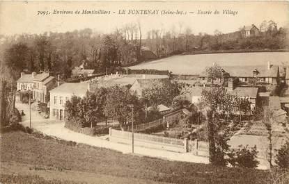"CPA FRANCE 76 ""Le Fontenay"""
