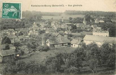 "CPA FRANCE 76 ""Fontaine le Bourg"""