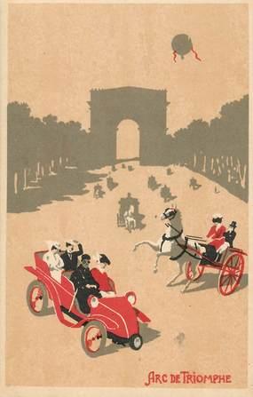 CPA PARIS / Illustrateur / Arc de Triomphe