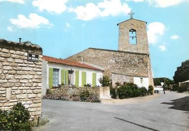 """/ CPSM FRANCE 17 """"Ile d'Oléron, la Brée, l'église"""""""