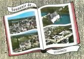 """72 Sarthe / CPSM FRANCE 72 """"Ecommoy, l'église et le centre"""""""