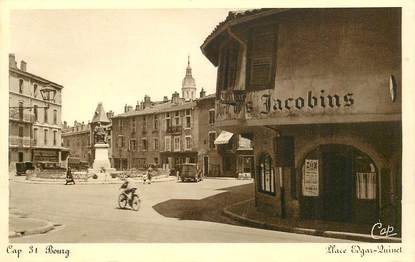 "CPA FRANCE 01 ""bourg, Porte des Jacobins"""