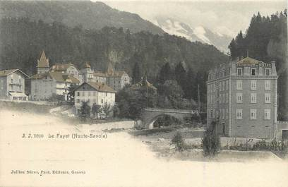 """/ CPA FRANCE 74 """"Le Fayet"""""""