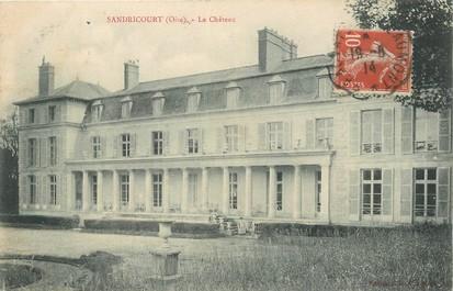 Cpa france 60 sandricourt le ch teau 60 oise for Liste communes oise
