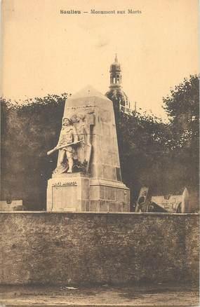 """CPA FRANCE 21 """"Saulieu, le monument aux morts"""""""