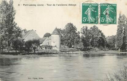 """CPA FRANCE 39 """"Port Lesney, tour de l'ancienne abbaye"""""""