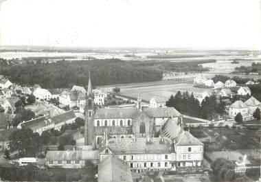 """/ CPSM FRANCE 67 """"Marienthal, basilique et maison des prêtres"""""""
