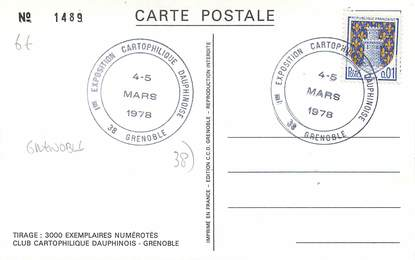 Cpsm france 38 grenoble ier salon de la carte postale for Salon carte postale