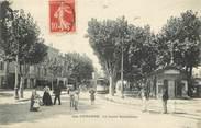 """13 Bouch Du Rhone CPA FRANCE 13 """"Aubagne, le cours Barthélemy"""""""