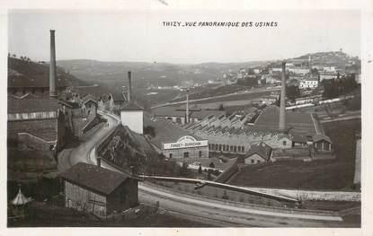 """CPSM FRANCE 69 """"Thizy, vue panoramique des usines"""""""