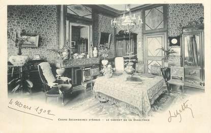 """CPA FRANCE 62 """"Arras, le cabinet de la directrice"""""""