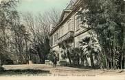 """13 Bouch Du Rhone CPA FRANCE 13 """"Aubagne, La Demande, terrasse du chateau"""""""