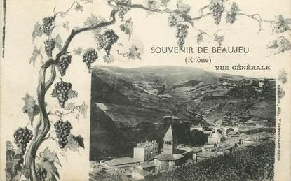 """CPA FRANCE 69 """"Beaujeu, souvenir"""""""