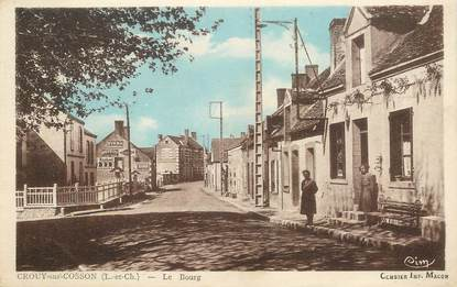 "CPA FRANCE 41 ""Crouy sur Cosson, le bourg"""