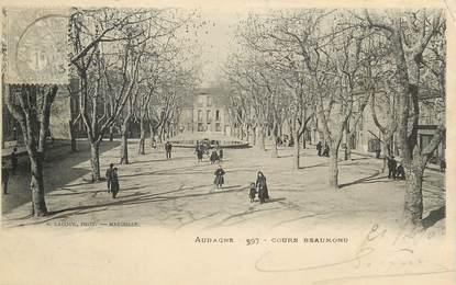"CPA FRANCE 13 ""Aubagne, Cours Beaumond"""