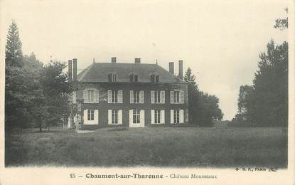 """CPA FRANCE 41 """"Chaumont sur Tharonne, chateau Mousseaux"""""""