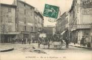 """13 Bouch Du Rhone CPA FRANCE 13 """"Aubagne, rue de la République"""""""