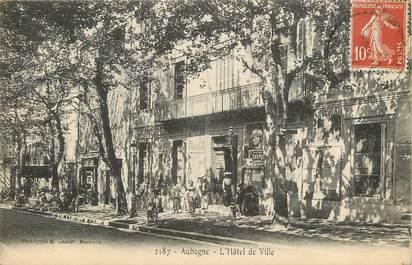 """CPA FRANCE 13 """"Aubagne, Hôtel de ville"""""""