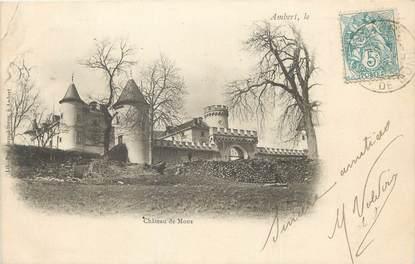 """/ CPA FRANCE 63 """"Ambert, château de Mons"""""""